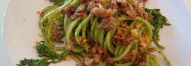 Spaghetti con salsiccia e friarielli
