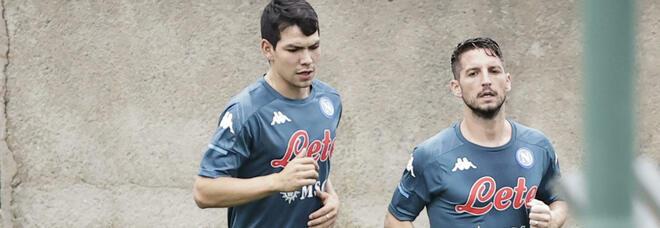Lozano, finalmente torna in gruppo: domenica sera sarà convocato
