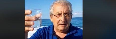 Il mare della Calabria è inquinato?  Il sindaco di Diamante se lo beve