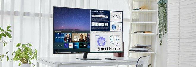 """Samsung raccoglie la crescente domanda di """"all in one"""" e amplia la sua gamma di Smart Monitor"""