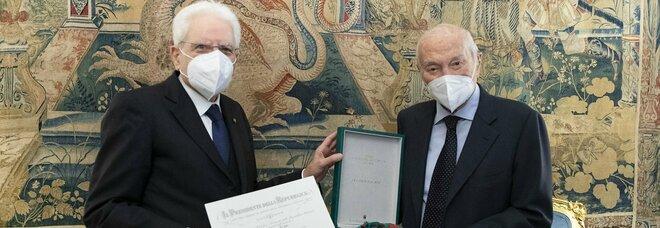 Piero Angela nominato Cavaliere di Gran Croce da Mattarella