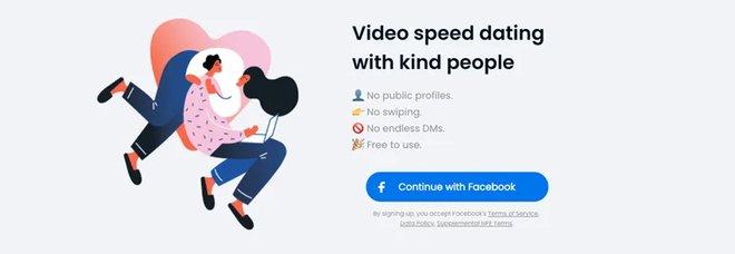 Speed-date romantici in videochiamata: Facebook lancia «Sparked»