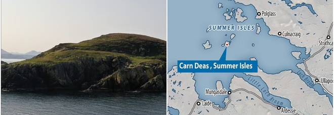 Scozia, mini isola in vendita a 60mila euro: il paesaggio è mozzafiato (e l'annuncio virale)