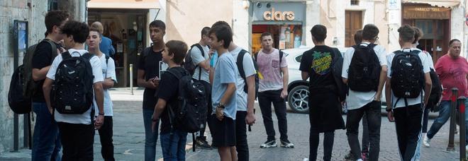 Studenti in centro a Perugia