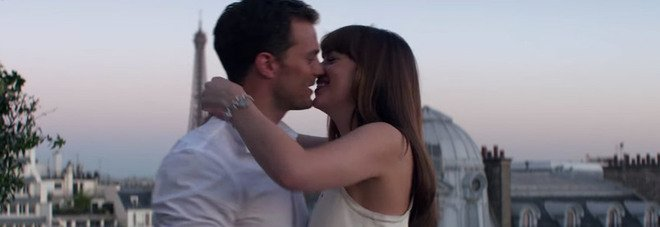 Jamie Dornan e Dakota Johnson in