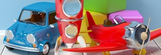 La pittura dei giocattoli genera danni permanenti a un bambino di 4 anni