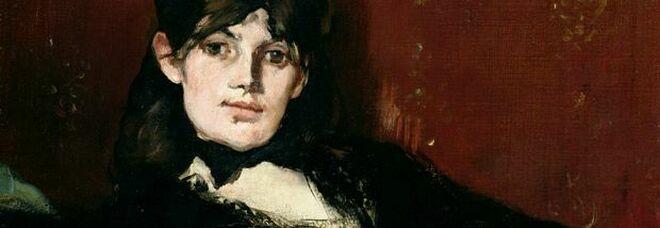 "Manet, ""Ritratto di Berthe Morisot distesa"""