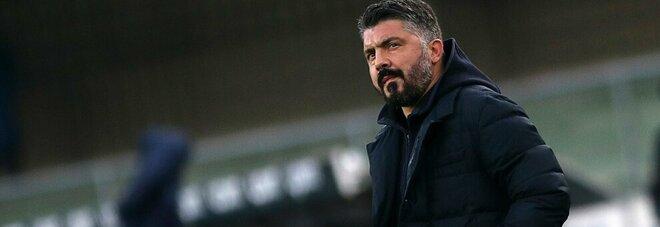 Gattuso chiama a rapporto il Napoli: niente confronto con De Laurentiis