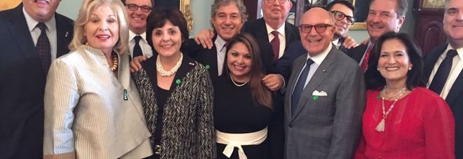 Tanta Napoli alla Casa Bianca: il magistrato Cantone e l'oncologo Giordano