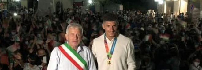 Di Lorenzo, festa a Ghivizzano: «Ancora non me ne rendo conto»