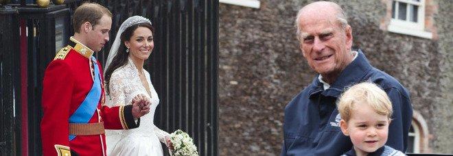Principe Filippo, il commovente ricordo di William e Kate: «Veniva a prendere i nostri figli in carrozza»
