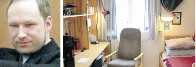 Breivik, 10 anni fa la strage in Norvegia: ora il neonazista fa la vita comoda in un trilocale con videogiochi e tv