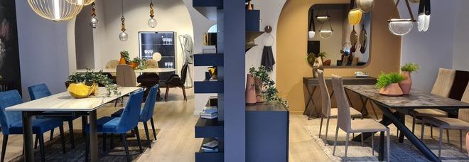 Tonin Casa e Prezioso Casa, il design abita a Castel Volturno