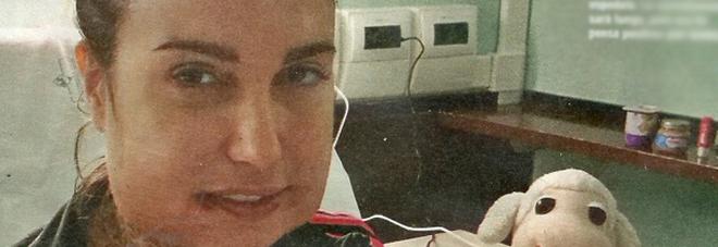 L'ex gieffina Siria De Fazio dopo l'operazione alla mandibola