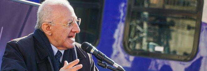 Campania zona arancione, De Luca accusa: «Vi siete divertiti? E ora forse entriamo in zona rossa»