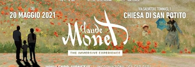 Monet, the Immersive Experience a Napoli