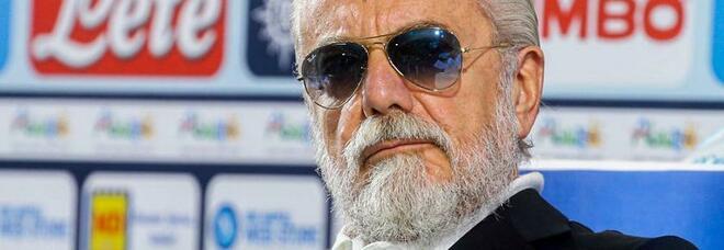 De Laurentiis, Superlega e Maradona: «Insigne? Così mi chiederà l'aumento»