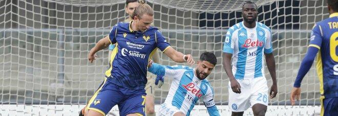 Napoli sesto, Champions a 2 punti: chi sale e chi scende al giro di boa