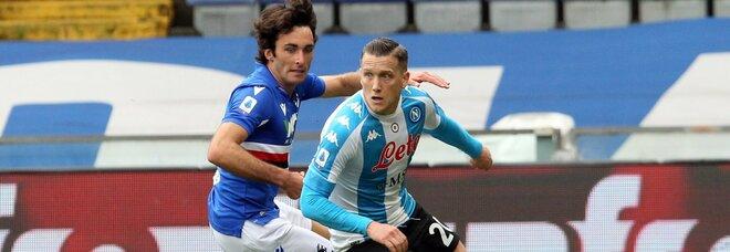 Napoli, da Zielinski e Fabian Ruiz sono 11 i gol dei centrocampisti