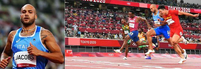 Live Olimpiadi, Jacobs primo italiano in finale 100 metri col record europeo (9''84). Nuoto, Italia di bronzo nella 4x100 mista