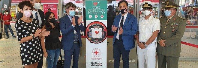 Stazione centrale di Napoli, in funzione i defibrillatori