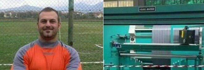 Giuseppe Siino morto sul lavoro a 48 anni: trascinato nei cilindri di un macchinario, choc a Firenze