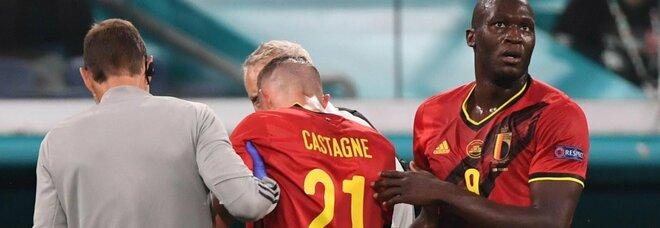 Castagne, sei fratture al viso lo costringono ad operarsi. Già finiti i suoi Euro 2020