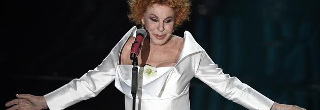 Ornella Vanoni al Sanremo 2018