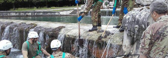 La Reggia di Caserta pronta a riaprire: grandi pulizia e disinfestazione