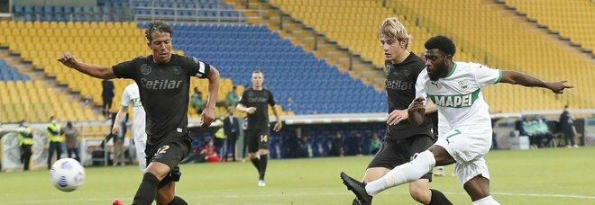 Parma-Sassuolo 1-3, neroverdi in lotta per la Conference