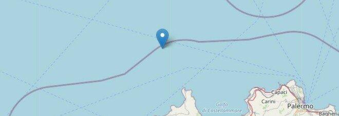 Terremoto a Trapani, scossa di 3.4 al largo di San Vito lo Capo