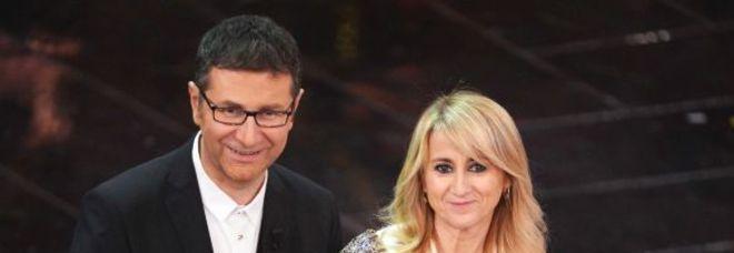 Fabio Fazioe Luciana Littizzetto