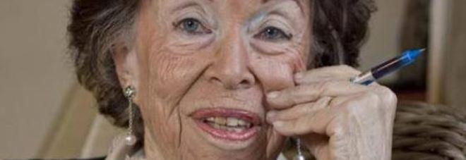 Wanda Lattes (foto dal Corriere Fiorentino)