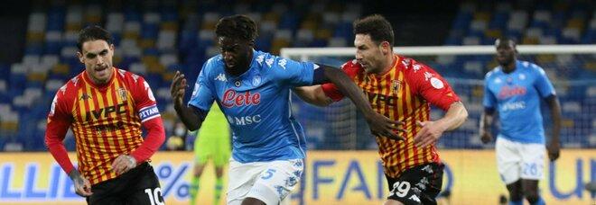 Bakayoko in azione contro il Benevento