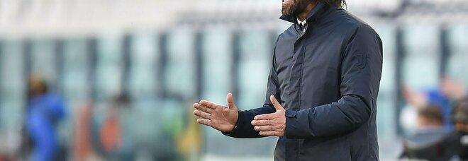 Juventus, Pirlo guardo al presente: «Obiettivo Champions e Coppa Italia»
