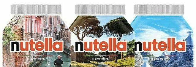 Nutella, ritorna l'edizione speciale «Ti amo, Italia»: sui vasetti le foto postate sui social
