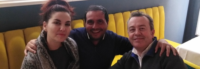 Vanessa Gravina, Mario Esposito e Domenico Pimpinella