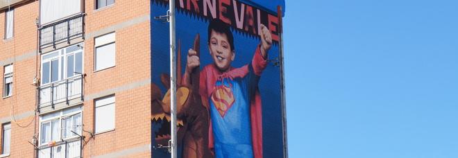 Napoli, murales dedicato a Francesco morto nel cantiere mai riqualificato
