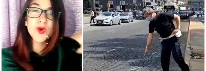 Morta ragazza a Napoli, il luogo dell'incidente (Piazza Carlo III)