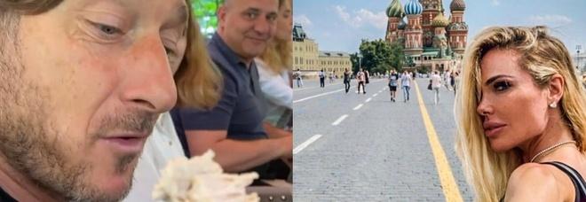 """Francesco Totti """"furioso"""" in vacanza a Mosca, il gesto inaspettato di Ilary Blasi lo fa andare fuori di sé: «Ti meno!»"""