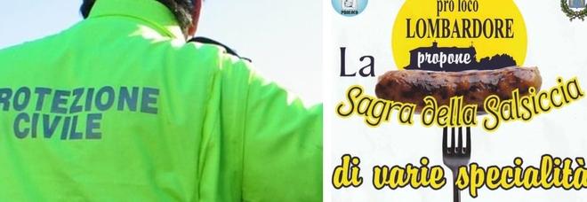 Volontari della Protezione civile ubriachi a Torino: botte e insulti alla sagra della salsiccia. Arrivano i carabinieri