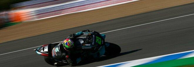 Motogp, Quartararo in pole position: per Morbidelli ottimo secondo posto