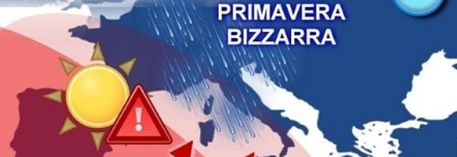 Meteo, l'inverno torna all'attacco: grandine, freddo, temporali e al Centro anche la neve