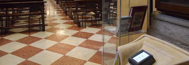 Venezia, in chiesa arriva il pos: offerte con il bancomat