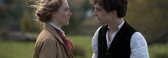 Jo e Laurie (foto di Sony Pictures concesse da Ufficio Turismo Massachusetts)