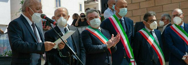 De Luca inaugura il festival di Giffoni: «Chi dice no al vaccino uccide l'economia»