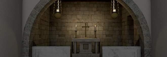 Quarto, san Nicola in castro di Serra: l'antica chiesa medievale dimenticata rinasce grazie al3D