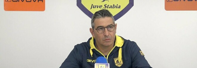 Juve Stabia a Terni, Padalino: «La speranza è arrivare quinti»