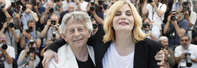 Emmanuelle Seigner e Roman Polanski