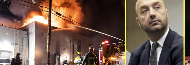 George Floyd, manifestanti devastano il ristorante di Bastianich: «Hanno spaccato tutto e appiccato il fuoco»